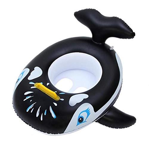 BYFRI 1pc -geformte Aufblasbare Gummiring Riesenwal Pool Schwimmen Aufblasbares Pool Schwimmen Baby-Schwimmen-Ring Schwimmen Sommer Spielzeug