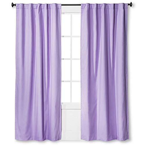"""Pillowfort Blackout Curtain Panel 84"""" x 42"""" (Lavender)"""