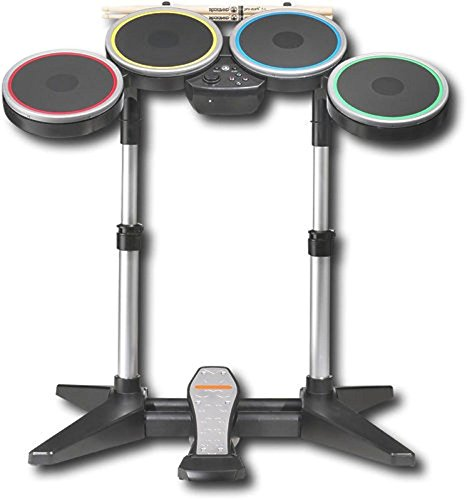 GENUINE Nintendo Wii or Wii U ROCK BAND 2 3 Wireless Drum Set drums PRO CYMBAL EXPANSION COMPATIBLE