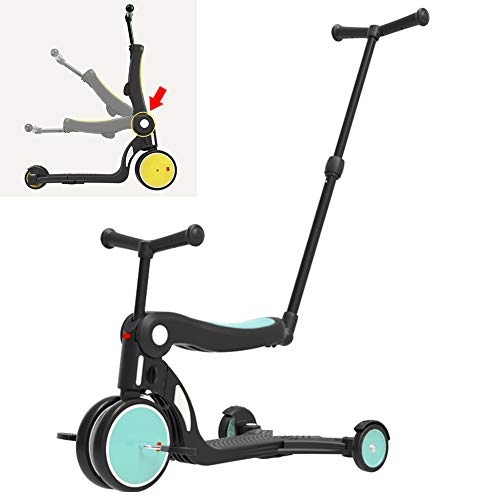 Best Review Of AP.DISHU Strollers Pushchairs, 3 in 1 Kids Tricycle Stylish Multifunctional Design Su...