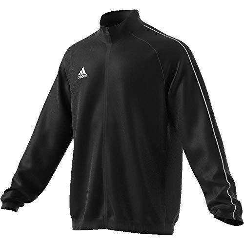 Adidas Core18 Pre Jkt Chaqueta de Deporte, Hombre, Negro (Negro/Blanco), M