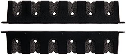 Berkley Black Horizontal Rod Rack