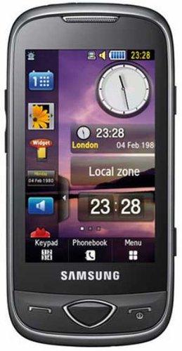 Samsung S5560 Handy (Ohne Branding, 7,6 cm (3 Zoll) Bildschirm, Touchscreen, 5 Megapixel kamera) schwarz