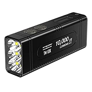 Nitecore Tiny Monster 10K-10.000Lm-Lg: 110mm-Lrg: 41mm La Plus puissante Lampe Torche Mixte Adulte, Noir (B07GTZ7WWK) | Amazon price tracker / tracking, Amazon price history charts, Amazon price watches, Amazon price drop alerts