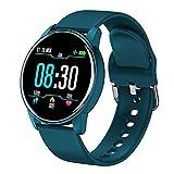 ZWW LBS a Prueba de Agua Reloj Inteligente de Seguimiento Llaman SmartWatch SOS del Monitor Anti-Perdidos Relojes para Hombres y Mujeres,F
