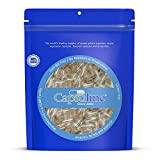 Capsuline Size 00 Empty Gelatin Capsules - 1000...