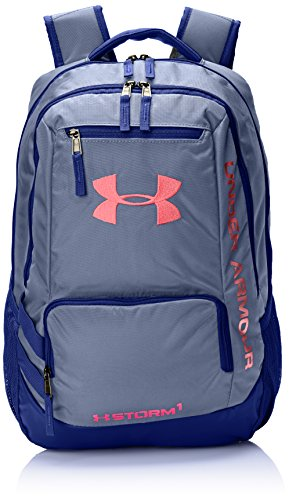 Under Armour Storm Hustle II Backpack, Hyper Green (389)/Stealth Gray, One Size Fits All