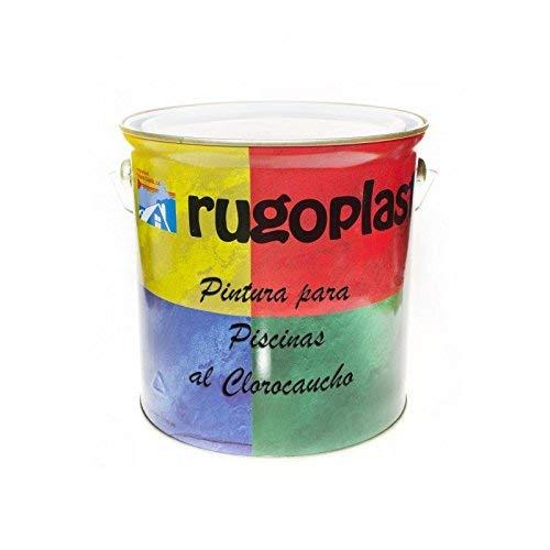 Pintura Piscinas al Clorocaucho Azul/Blanco (5Kg, Azul H 24) Envío GRATIS 24h.
