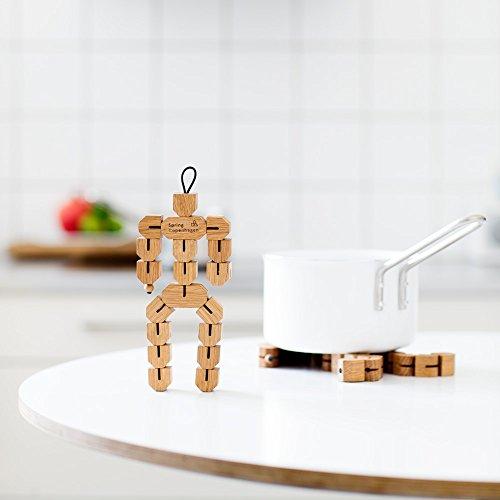 Spring Copenhagen Small Clumsy HANS | UNTERSETZER | 3D-Holzfigur | NIS Hauge