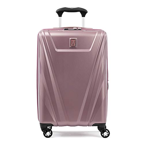 Travelpro Maxlite 5-Hardside Spinner Wheel Luggage, Dusty Rose, Carry-On 21-Inch