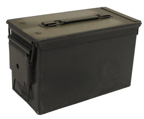 MFH 627905 Boîte à munitions US 29,5 x 15,5 x 18 cm (Vert)