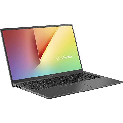 2020 ASUS VivoBook 15 15.6 Inch FHD 1080P Laptop (AMD Ryzen 3 3200U up to 3.5GHz, 8GB DDR4 RAM, 256GB SSD, AMD Radeon Vega 3, Backlit Keyboard, FP Reader, WiFi, Bluetooth, HDMI, Windows 10) (Grey)