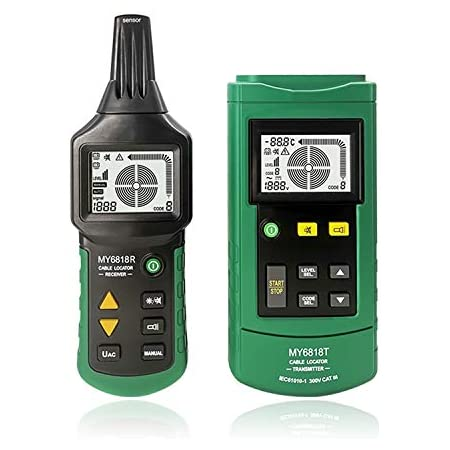 2 in 1 Metal and Voltage Detector,Professional Handheld Sensitive Live Wire Test Device Pipe Electrical Box Tester Finder