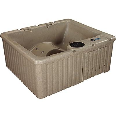 Essential Hot Tubs 14-Jet Newport Hot Tub, Seats 3-4, Cobblestone