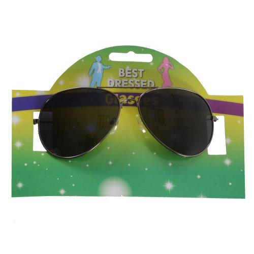New Michael Jackson Aviator Style Fancy Dress Glasses