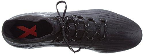 adidas Men's X 16.2 Fg Soccer Shoe, Black Core Black Dark Grey, 11 UK