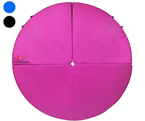 Wacces Pole Dance Foldable Crash Mat, Pink