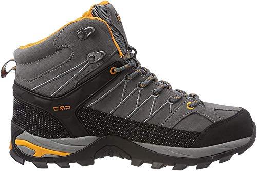 CMP Herren Rigel Mid Shoe Wp Trekking- & Wanderstiefel, Grau (Grey-Aperol 60ak), 41 EU