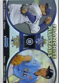 2012 Bowman Chrome Franchise All Stars #FAS-HH Felix Hernandez/Danny Hultzen Baseball Card NM-MT