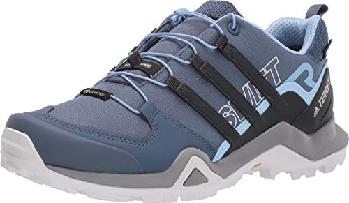 adidas outdoor Terrex Swift R2 GTX Tech Ink/Carbon/Glow Blue 8