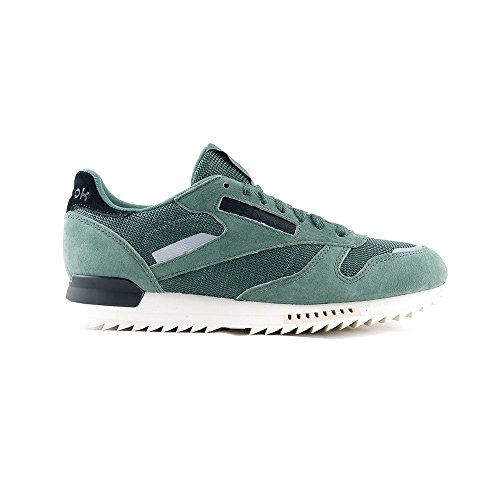Reebok Cl Leather Ripple Sn - chalk green/whisper t - Running-Schuhe-Herren, Größe:11