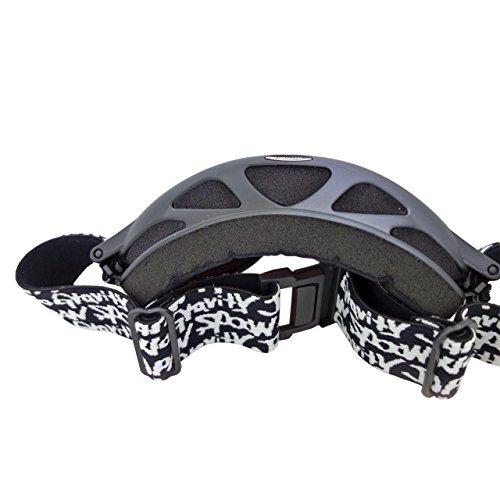 『SPOON ユニセックス スキーゴーグル ヘルメット対応可 球面レンズ ダブルレンズ メンズ レディース 男女共用』の5枚目の画像