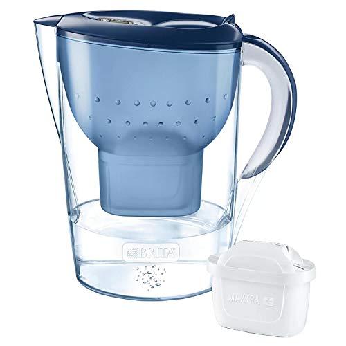 BRITA - Jarra filtrante Marella XL 2,4 litros azul con filtro maxtra+