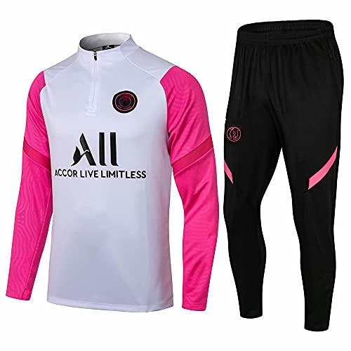 zhaojiexiaodian Uniforme de fútbol de manga larga, primavera y otoño, camiseta deportiva para adultos, traje de entrenamiento, traje de competición (Figura 5, s)
