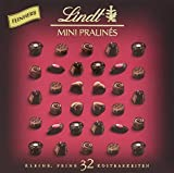 Lindt Mini Pralinés Noirs, Zartbitterschokolade, 32 Pralinen, 2er Pack (2 x 158 g)