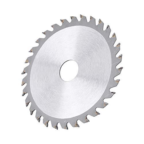 Hoja de sierra circular no ferrosa, corte de carburo de sierra circular de aluminio hecho de acero inoxidable de aleación dura con carburo cementado