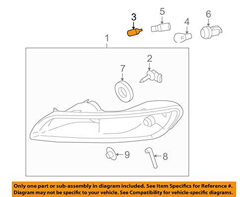 Side Light/Positioning Bulb 5W. Porsche 987/997
