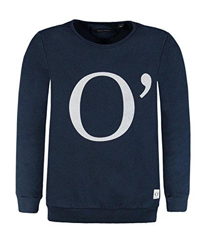 Marc O' Polo Kids Marc O' Polo Kids Mädchen 1/1 Arm Sweatshirt, Blau (Mood Indigo 3008), 128