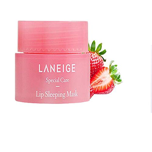 Lip Sleeping Mask 20g - Lip Gloss and Moisturizers Long Lasting Night Treatments Lip Care Balm Chapped Cracked Lips Dry Lips for Girls, Women and Men