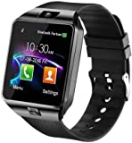 Speeqo Bluetooth, Sim Card 4G Supported Smartwatch for Boys and Girls (Black)