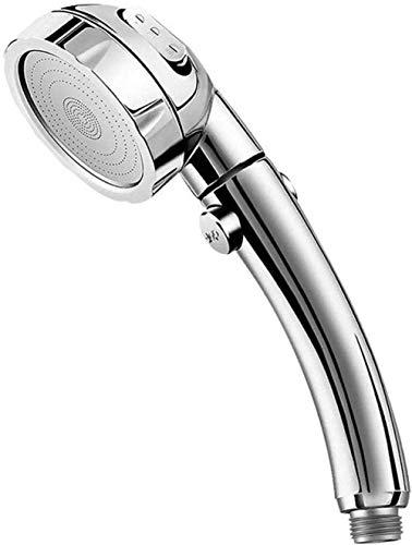 YNHNI Grifo de la Ducha presión de la Ducha con Cabezal de Ducha On Off Interruptor de Pausa de Ahorro de Agua Ajustable Desmontable Cabezal de Ducha de Lujo