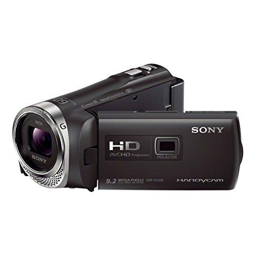 Sony HDR-PJ330E Handycam con proiettore integrato, Nero