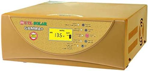 URBANURJA UTL Gamma+ rMPPT Solar Inverter 1kVA 12Volt Smart PCU, 40Amp MPPT Charge Controller Support Both: 12/24 Vol...