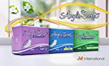 Angels Secret Premium Super saugfähige Damenbinden – Probepackung mit 48 Stück (3 Packungen)