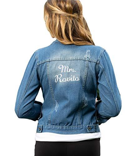 Personalized Jean Jacket, size XL