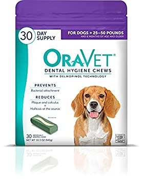 Oravet Dental Hygiene Chews for Medium Dogs 25-50 lbs