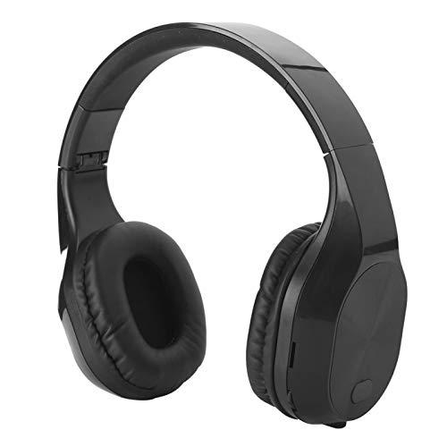Pelnotac Auriculares inalámbricos Bluetooth, auriculares deportivos retráctiles para juegos y música