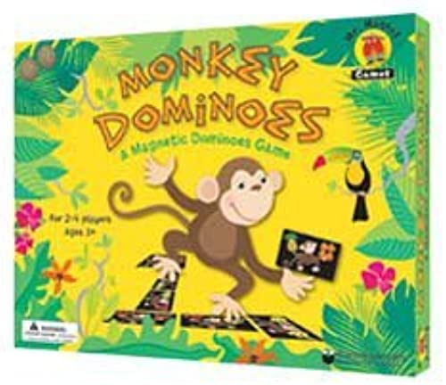 hermoso Dowling Magnets Monkey Monkey Monkey Dominoes by Dowling Magnets  tienda