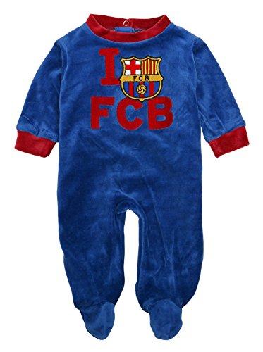 FCB F.C.Barcelona - Pelele Barça, Color Azul, Talla 6 Meses…