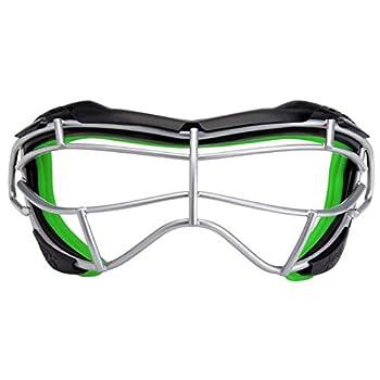 STX Lacrosse Focus-S Goggle Black/Lizard