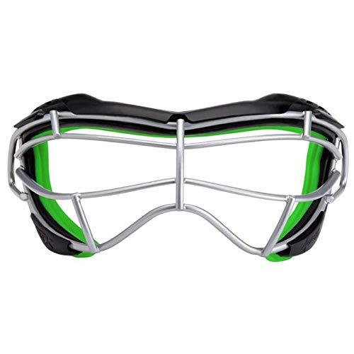 STX Lacrosse Focus-S Goggle, Black/Lizard