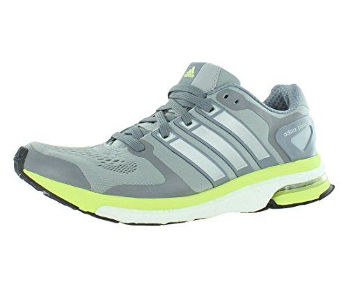 adidas Womens Adistar Boost w ESM Fabric Low Top Lace Up Running, Grey, Size 9.5