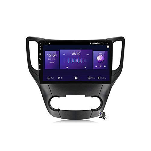 Gokiu Android 10 Autoradio 2 DIN Car Stereo Coche GPS Navegacion para Changan CS35 2013-2017 Soporte Carplay Android Auto/Multimedia FM RDS DSP/Control Volante/Hands-Free Calls,7862: 4+64gb