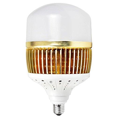 MENGS CL-Q100W Hohen Lumen E27 100W = 800W LED Globus Lampe 13000LM AC 85-265V Aluminium-Fin + PC Abdeckung Warmweiß