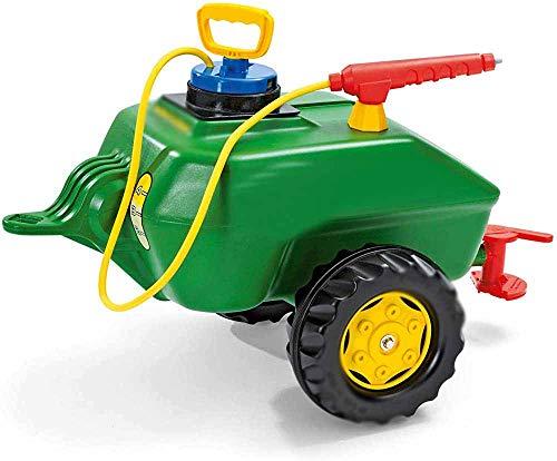 Juguetes, cisterna, juguetes de funciones/características: lleno de agua, con grifos, pie estable remolques de tractor de cubo,Green