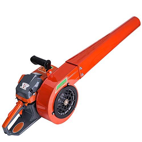 JYING Powerful 2-Stroke Wind Handheld Petrol Blower,Portable Cordless Garden Leaf Blower,Fuel Tank Capacity 1L,Orange